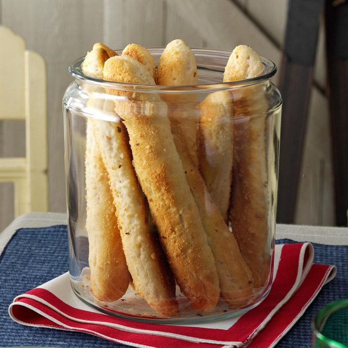 Savory Biscuit-Breadsticks