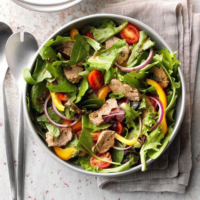Day 18: Savory Pork Salad