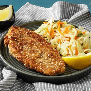 Sesame Dill Fish