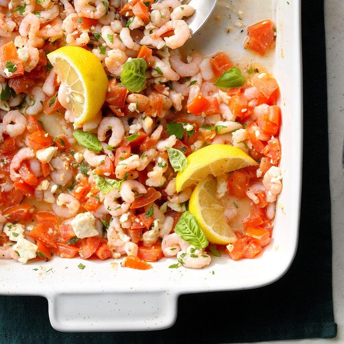 Shrimp and Garlic Bruchetta
