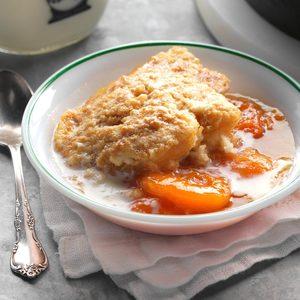 Skillet Caramel Apricot Grunt