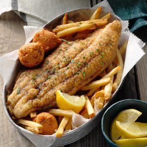 Skillet-Grilled Catfish