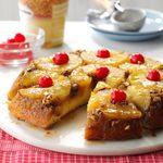 Skillet Pineapple Upside-Down Cake