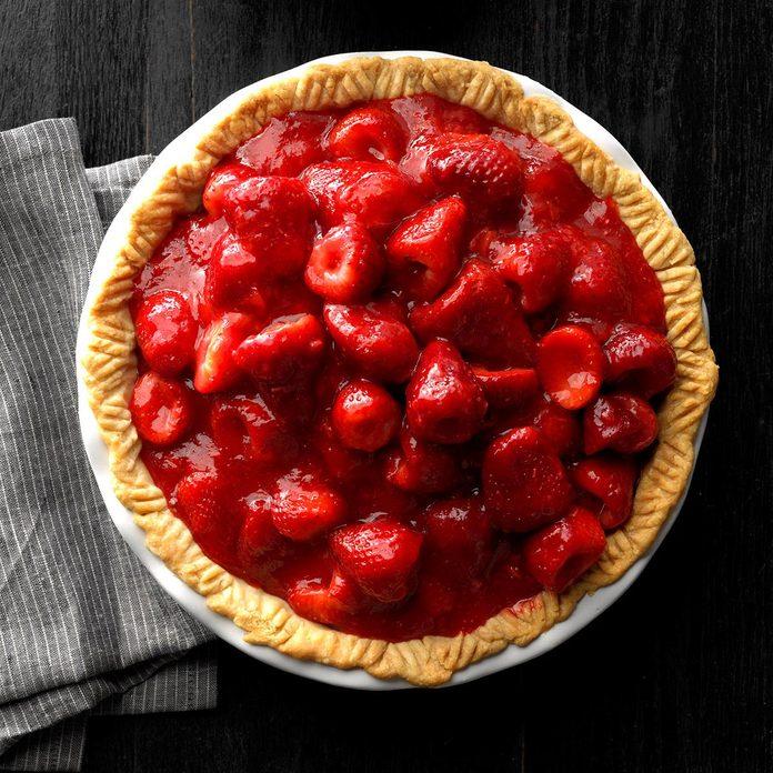 Sky-High Strawberry Pie