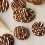Slice & Bake Chocolate Pecan Cookies