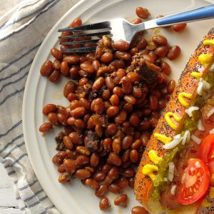 Slow-Cooked Baked Beans