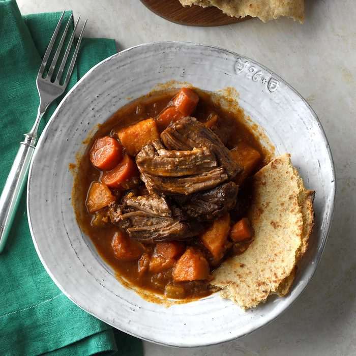 Slow-Cooked Caribbean Pot Roast