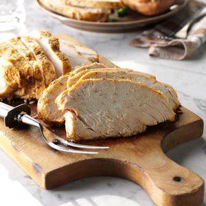 Slow-Cooked Herbed Turkey