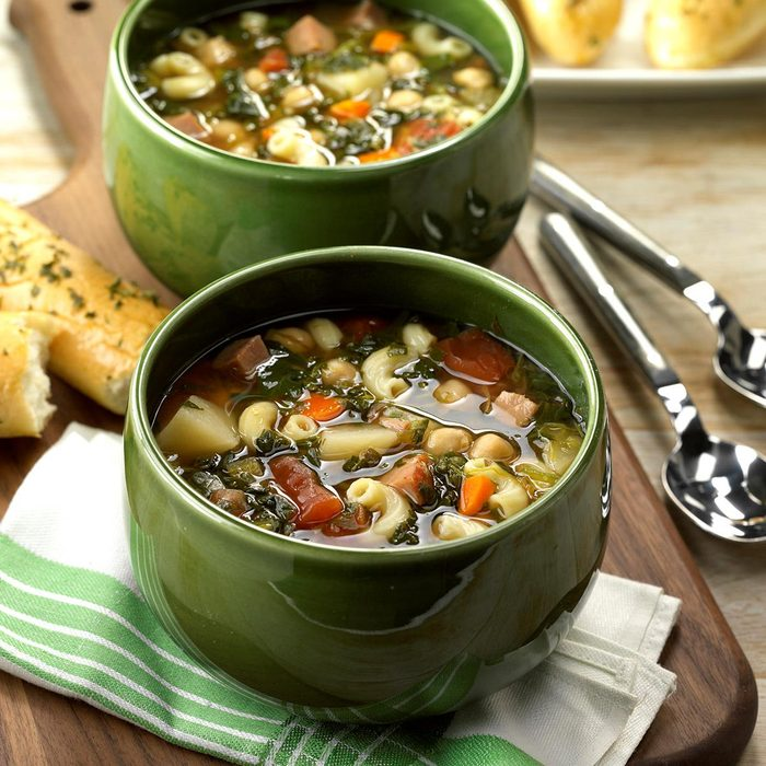 Slow-Cooked Minestrone Soup