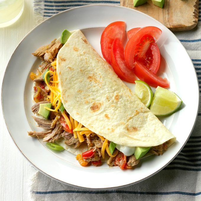 Inspired by: Chipotle's Carnitas Soft Tacos