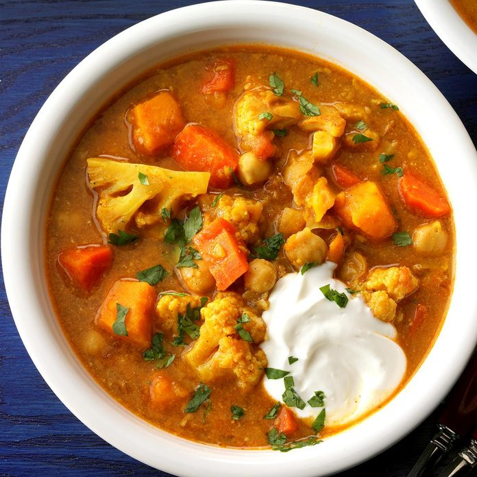 Slow-Cooked Vegetable Curry