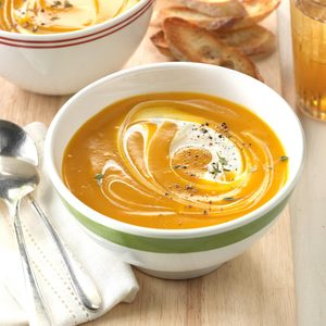Slow-Cooker Butternut Squash Soup