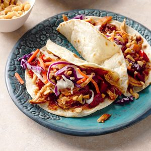 Slow-Cooker Caribbean Moo Shu Chicken