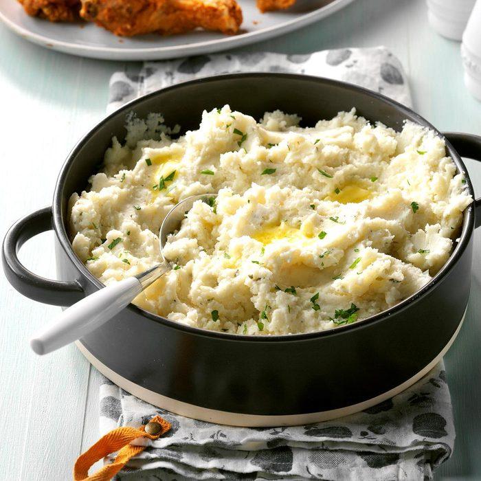 Vegetarian Slow-Cooker Mashed Potatoes
