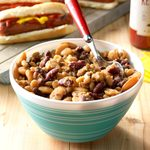 Slow-Cooker Potluck Beans