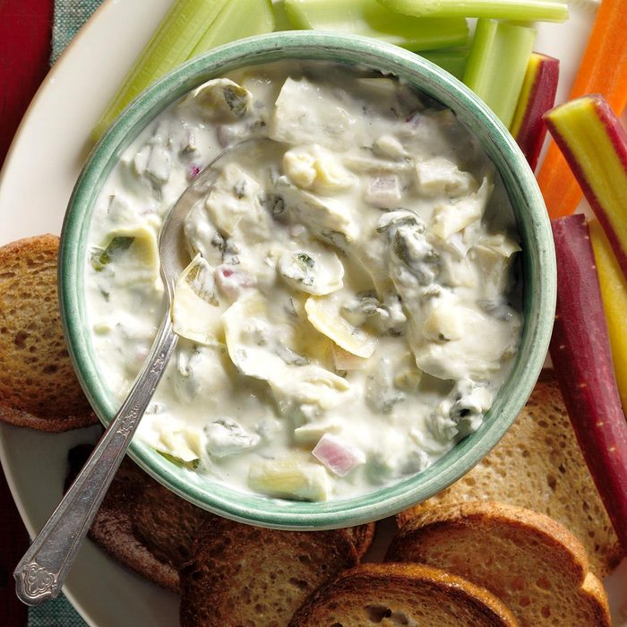 Slow-Cooker Spinach and Artichoke Dip