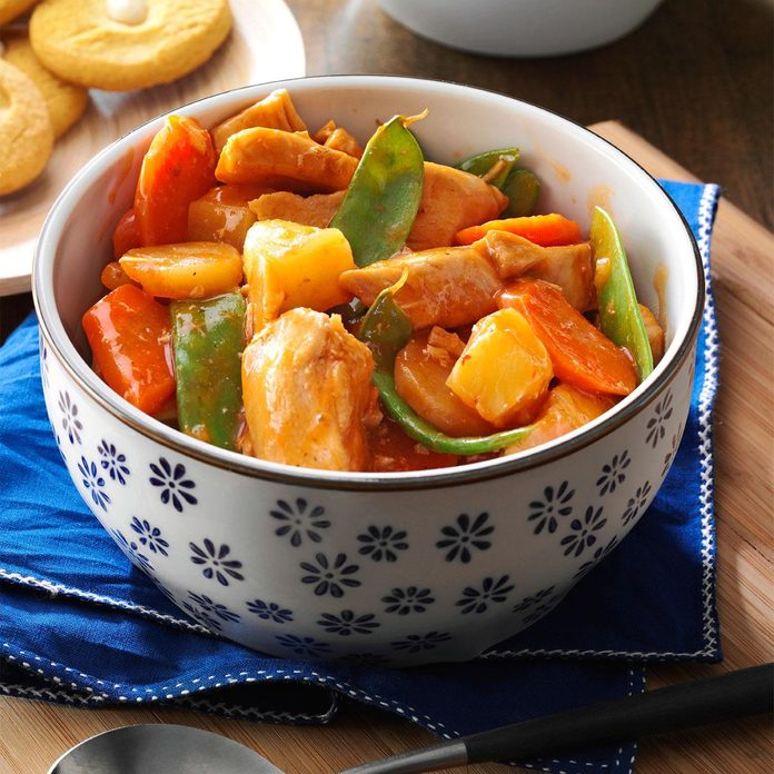 Slow-Cooker Sweet-and-Sour Chicken