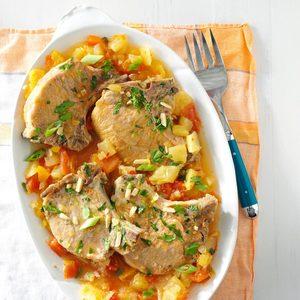 Slow-Cooker Tropical Pork Chops