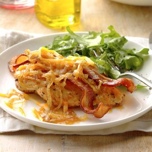 Smothered Chicken Breasts
