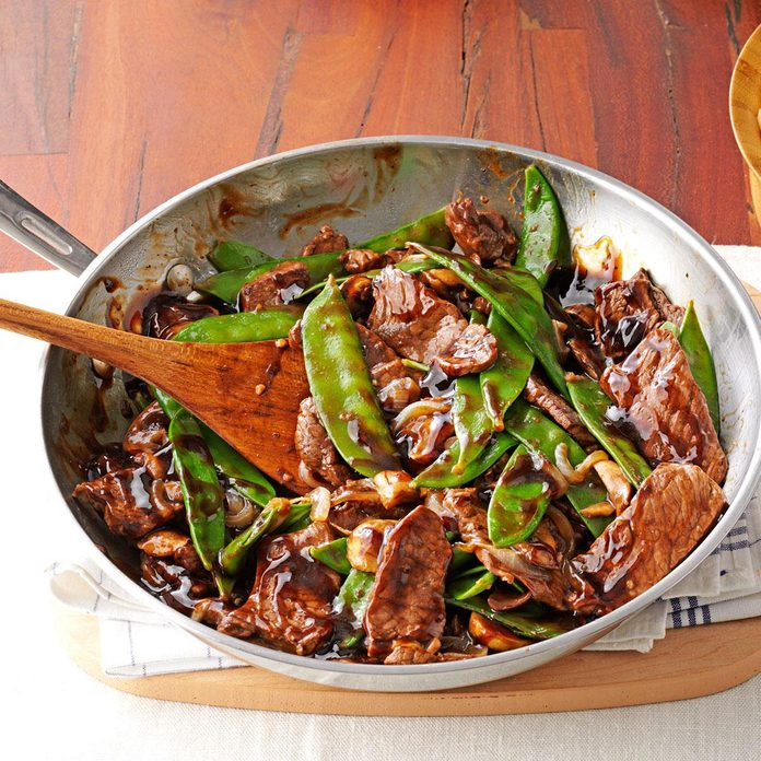 Beef Stir Fry Inspired by Scrooged