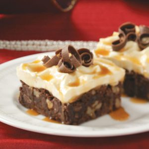 Snowcapped Brownies