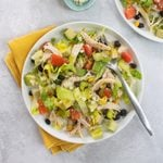 South-of-the-Border Chicken Salad with Tequila Lime Dressing