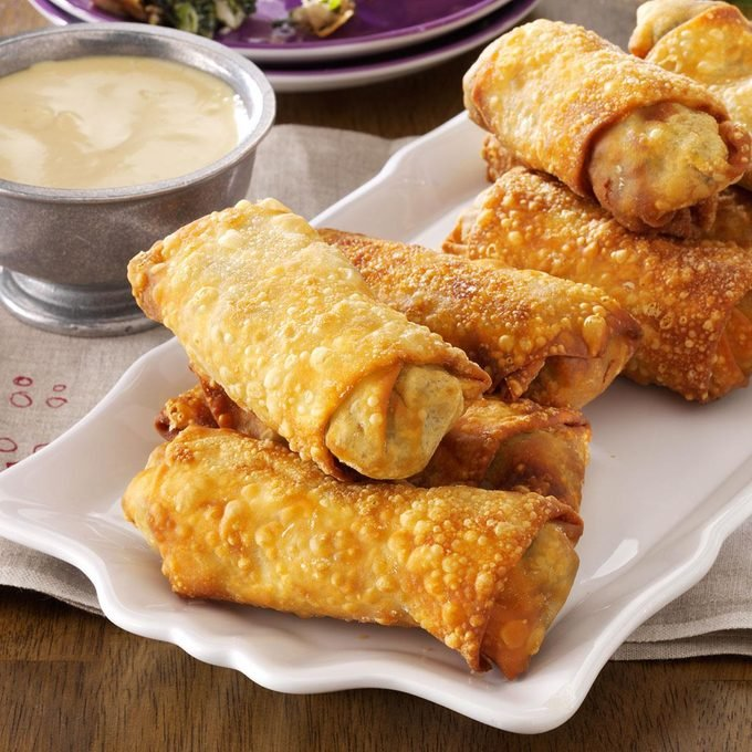 Southern-Style Egg Rolls