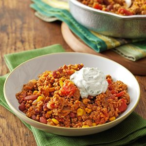 Southwest Turkey Bulgur Dinner
