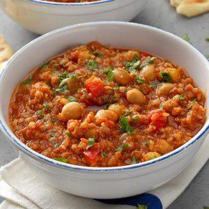 Spice Trade Beans & Bulgur
