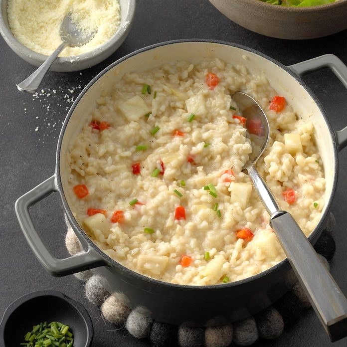 Spiced Pear Risotto