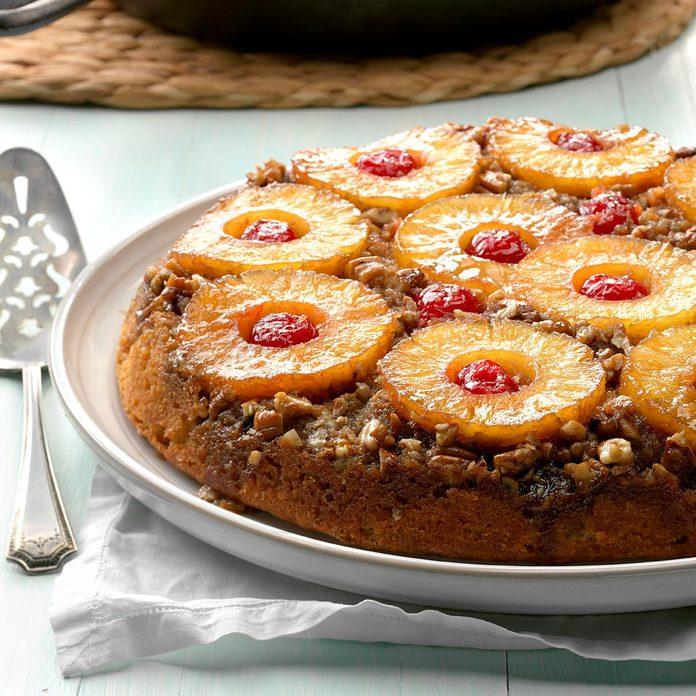 Spiced Pineapple Upside-Down Cake