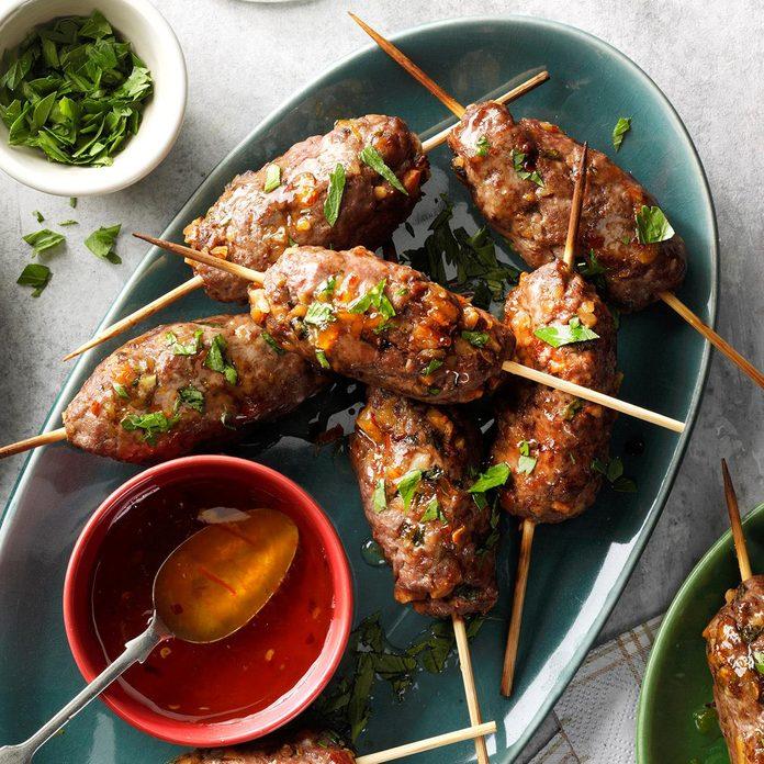 Spicy Beef Satay