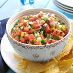Spicy Watermelon Salsa
