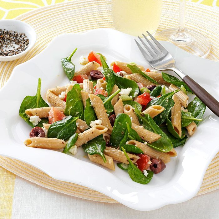 Spinach Penne Salad