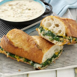Spinach Po'Boy