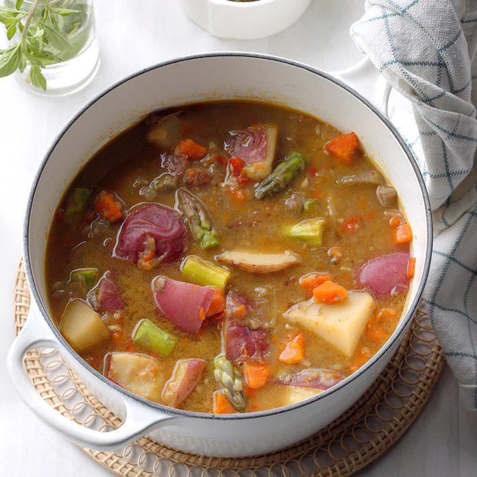 Spring Essence Soup With Pistou Exps Ssmz20 65884 B04 10 2b 4