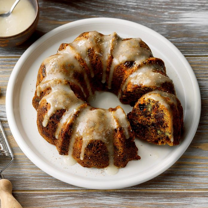 Steamed Carrot Pudding