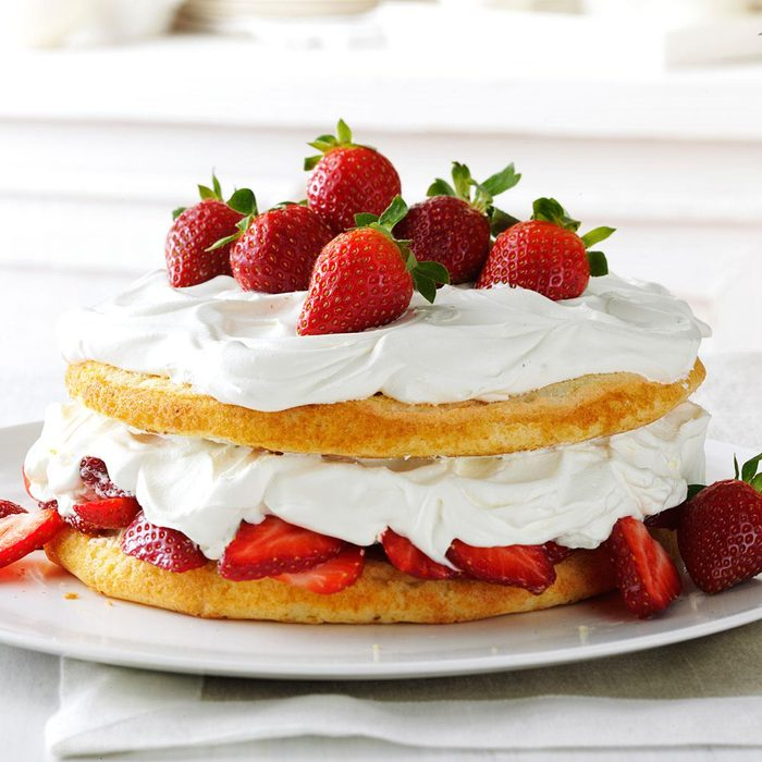 Strawberries + Cream