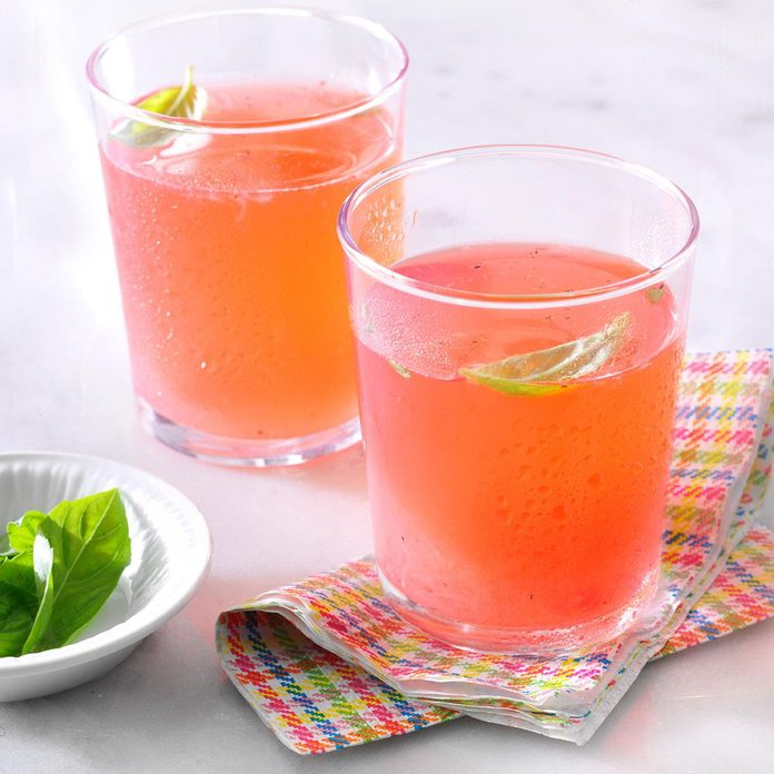 Strawberry-Basil Cocktail