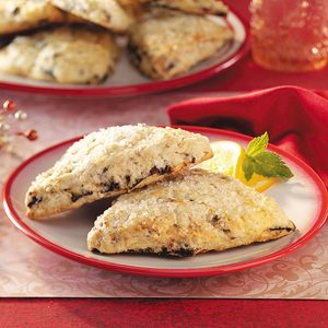 Sugar Plum Scones