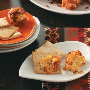 Sun-Dried Tomato Cheese Balls