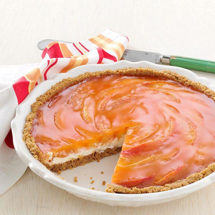 Sunny Peaches & Cream Pie