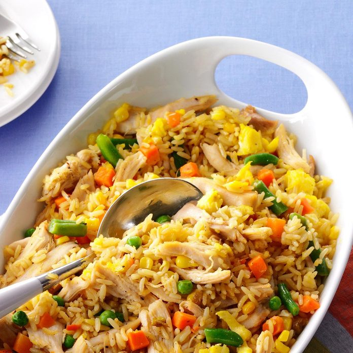 Super Quick Chicken Fried Rice