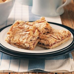 Swedish Raspberry Almond Bars