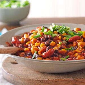 Sweet & Spicy Beans