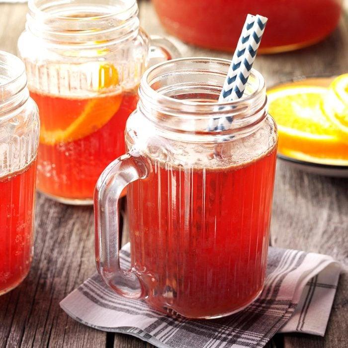Sweet Tea Boysenberry Shandy