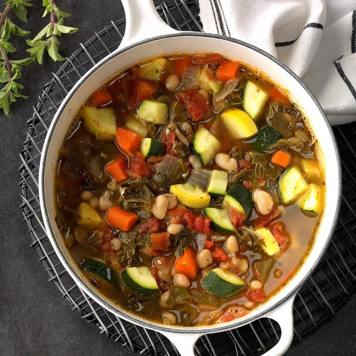 Swiss Chard Bean Soup