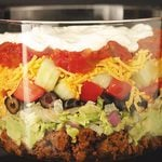Tasty Layered Taco Salad