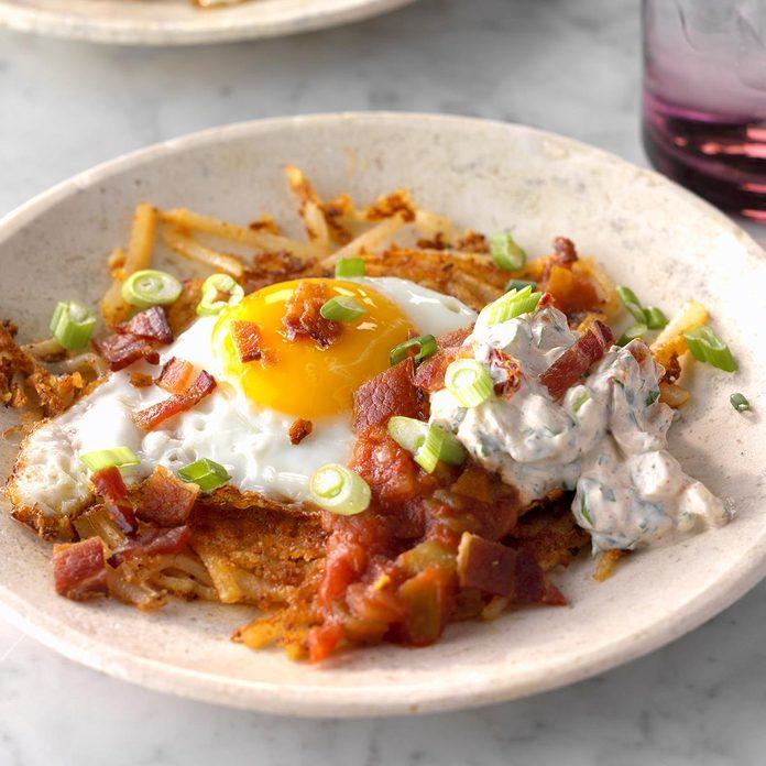 Tex-Mex Breakfast Haystacks