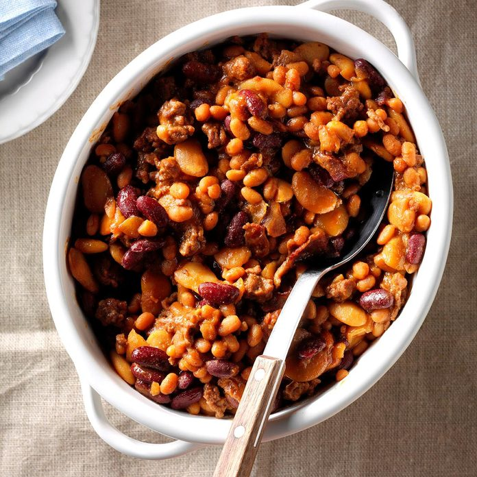 Three-Bean Baked Beans